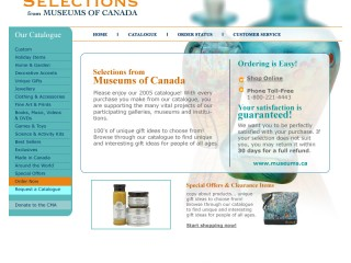 Selections from Museums of Canada